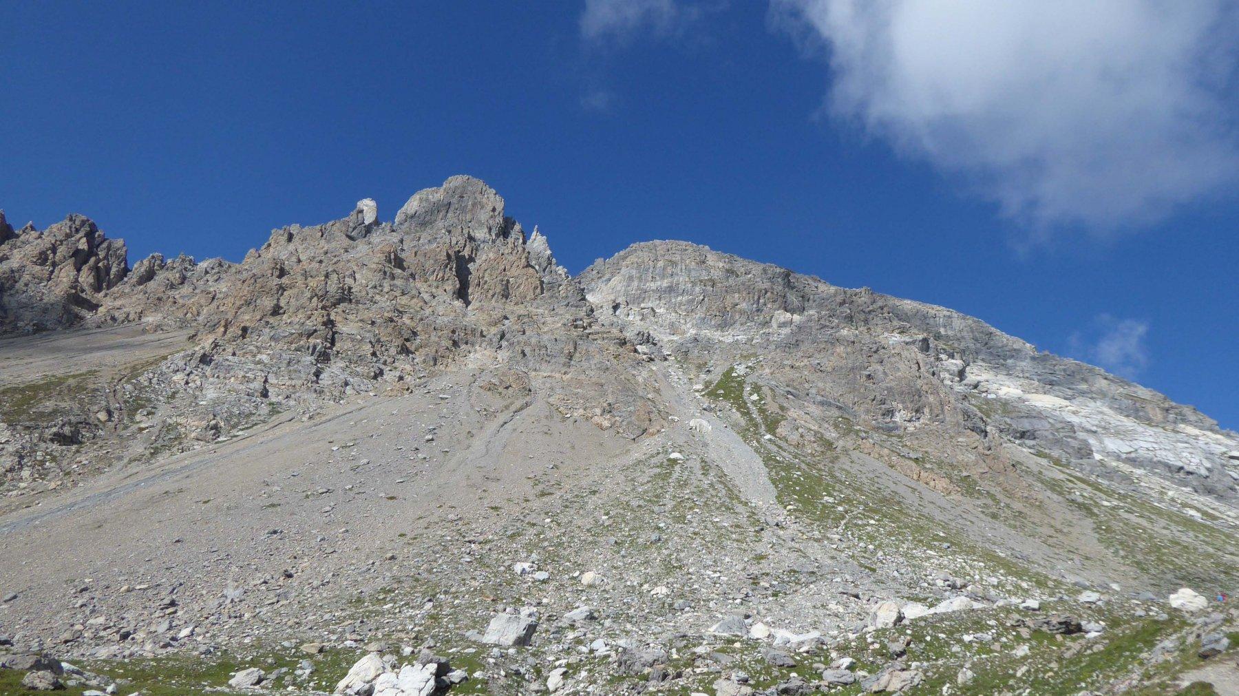 Monte Scaletta 2840 m.