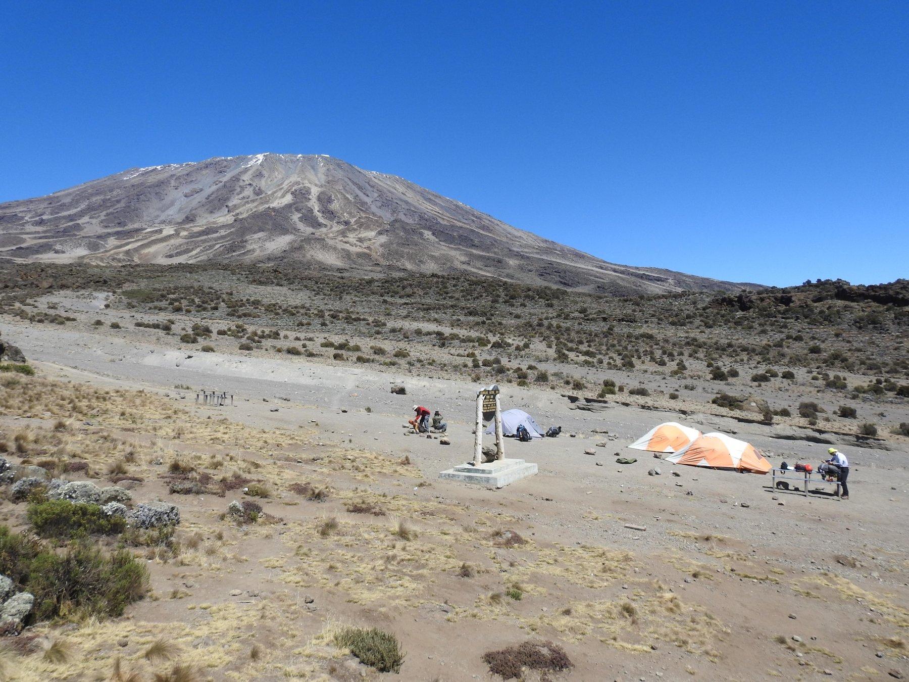 Campo 3 a 3800 metri