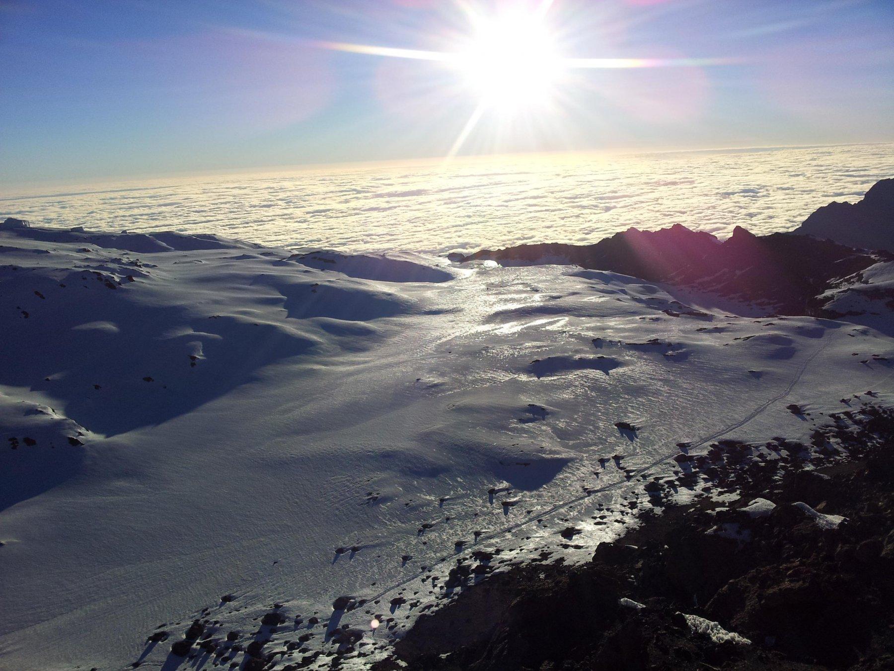 Alba dal bordo dellla caldera