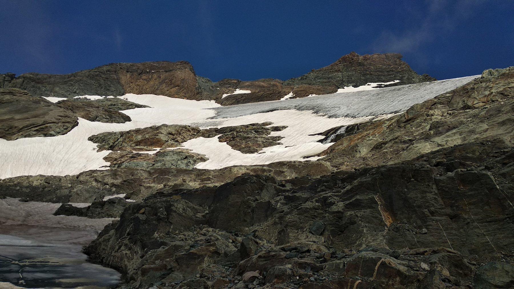 Fronte del ghiacciaio