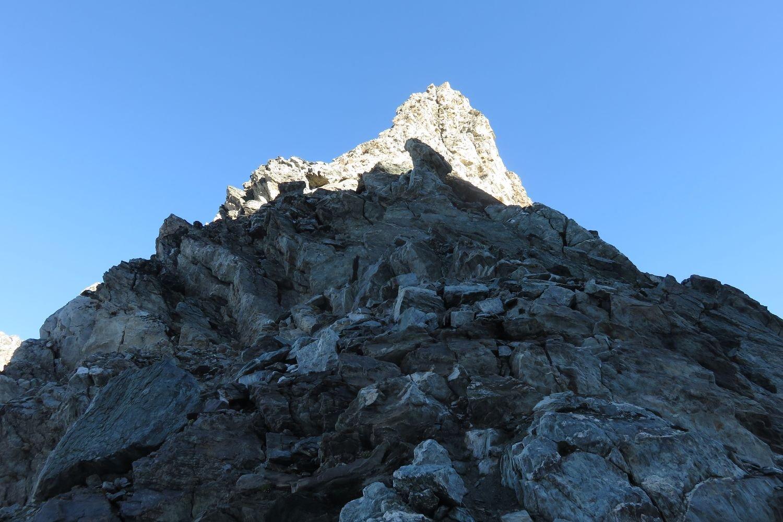 la cresta finale dal col de la gliere