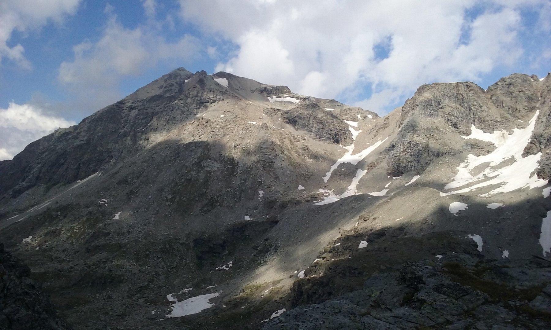 La Rocca salendo al Colle d'Ambin
