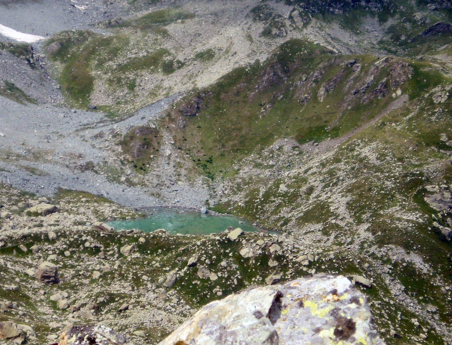 Lago Chiaretto dal Ghincia.