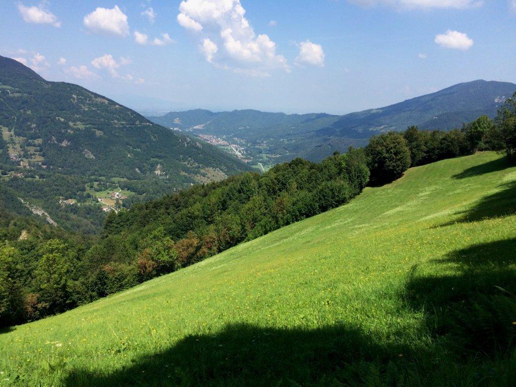 Valle Vermenagna verso Roccavione.