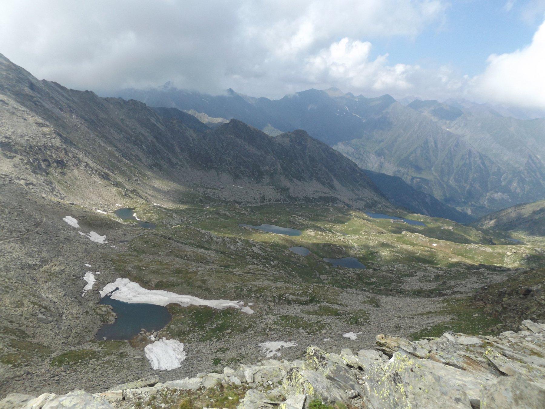 Conca dei 13 laghi da P.ta Cialancia