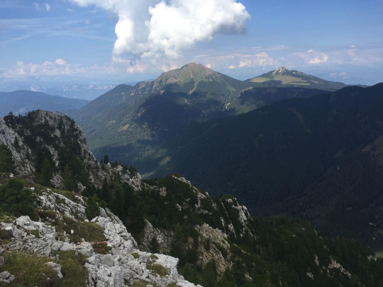 Cornon di Tesero (Cornacci) da Alpe di Pampeago 2018-08-20