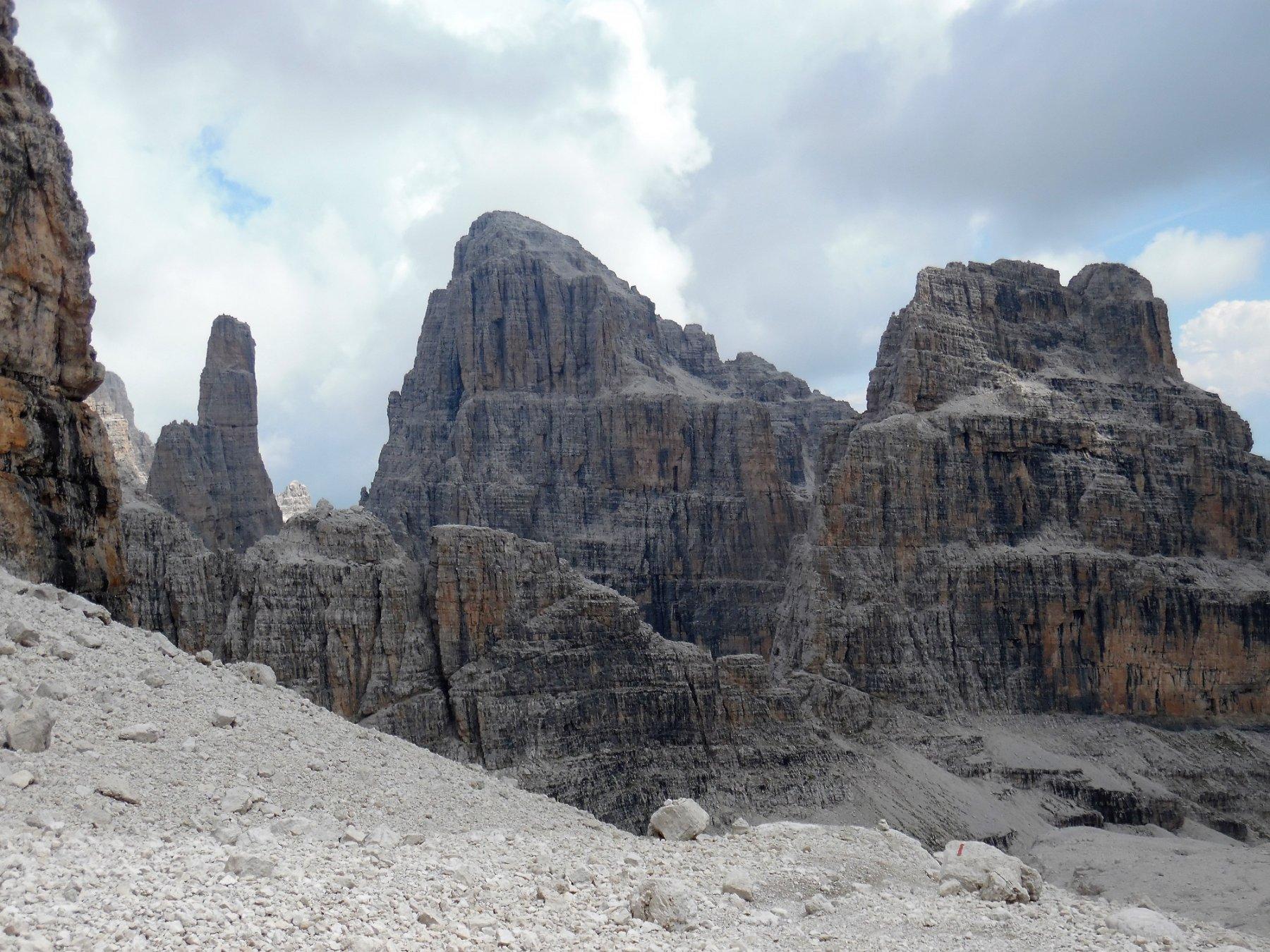 Campanile Basso e Brenta Alta