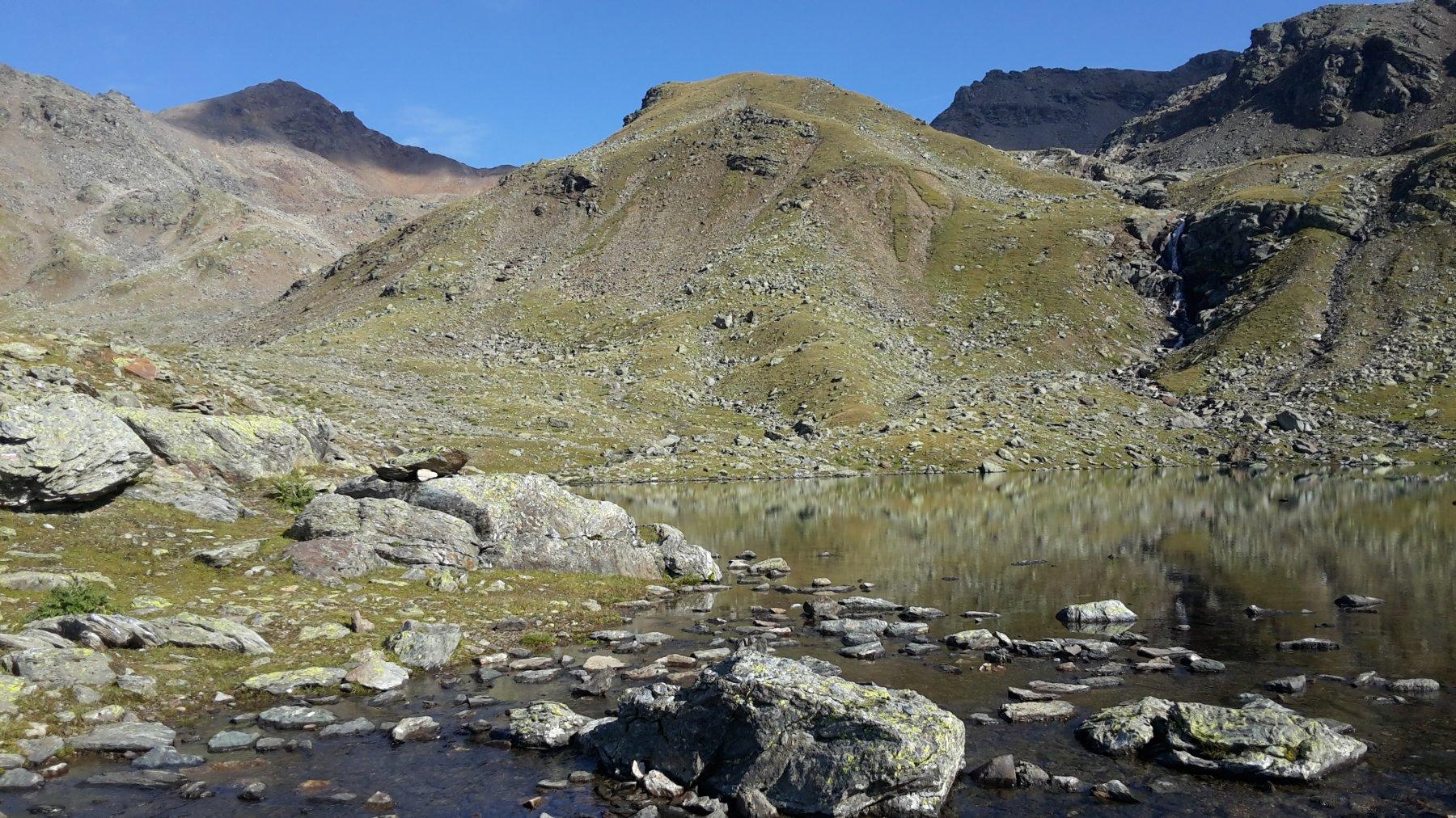 lago della Manzina e monte Confinale