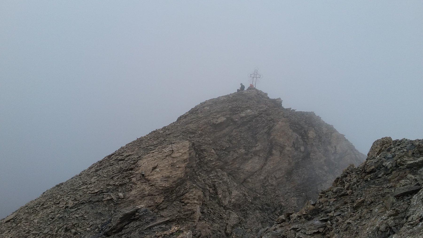 vetta nelle nebbie