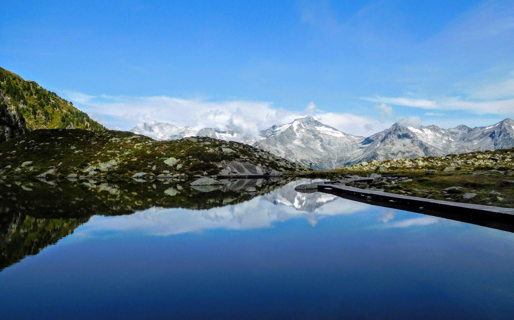il lago Chiusetta
