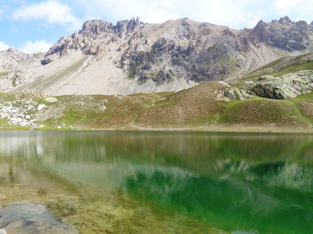 Il Monte Scaletta dal Lago Inferiore