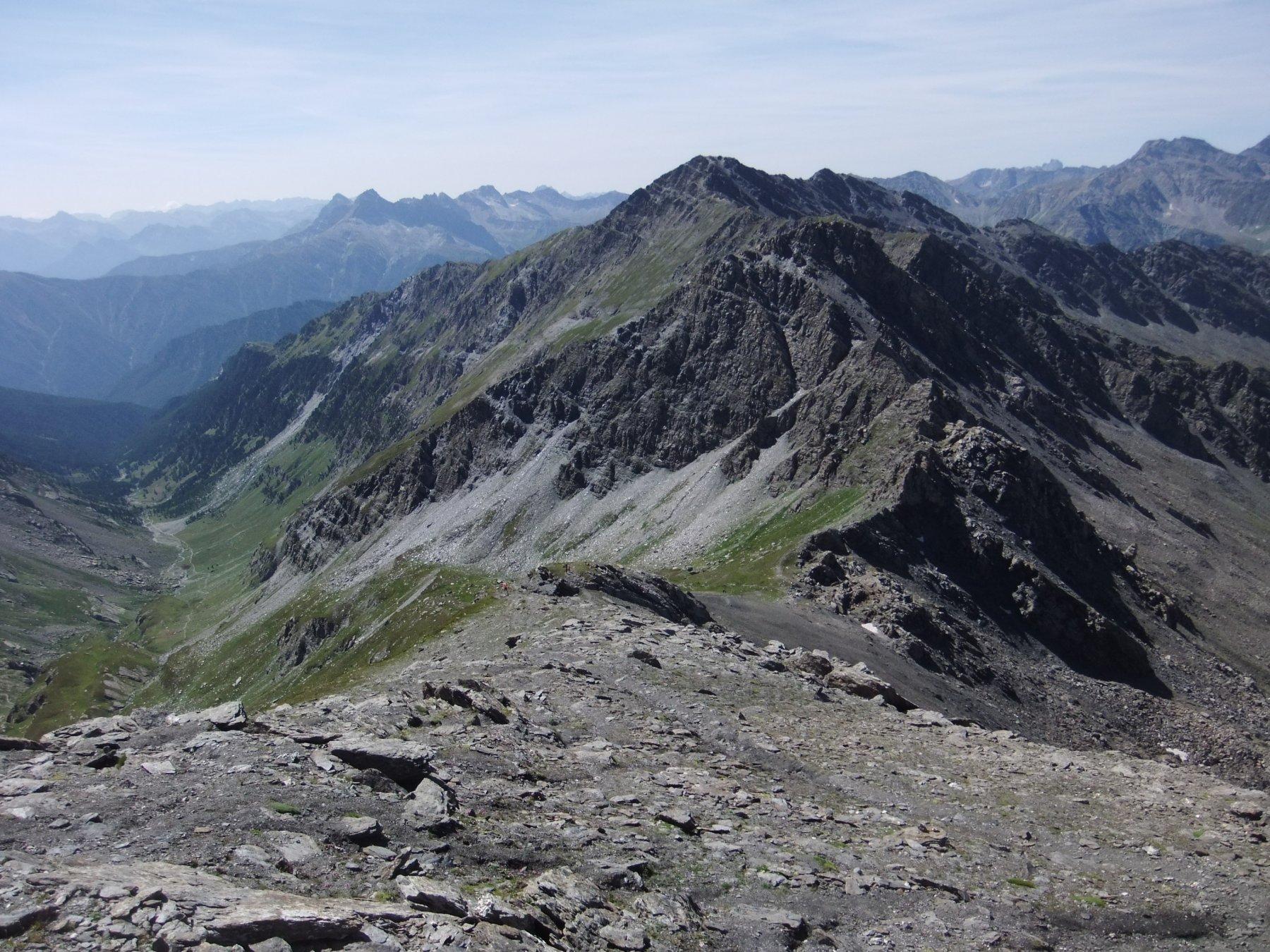 Passo Losetta e Punta Tre Chiosis , scendendo