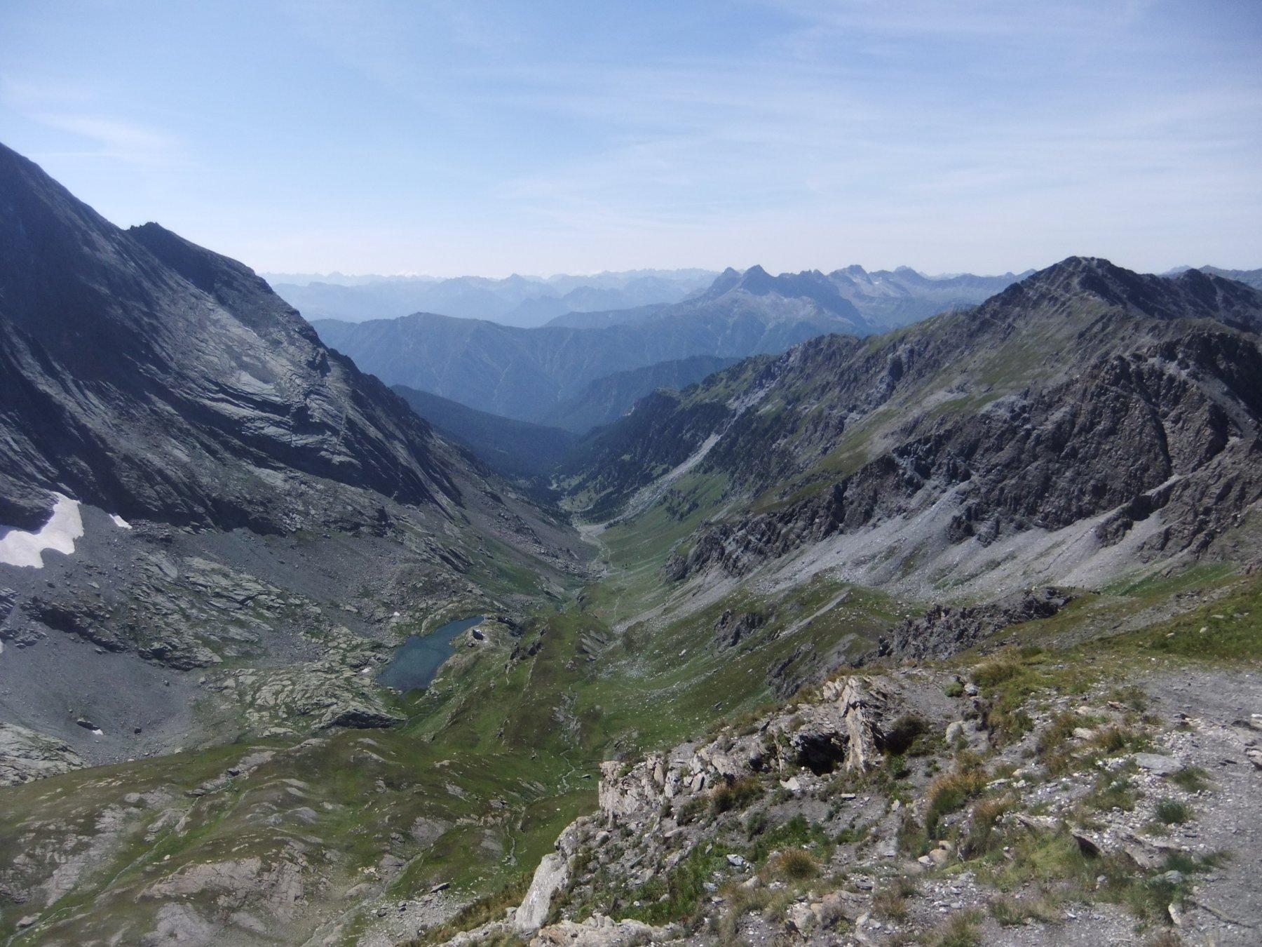 Vallone di Vallanta dalla cima