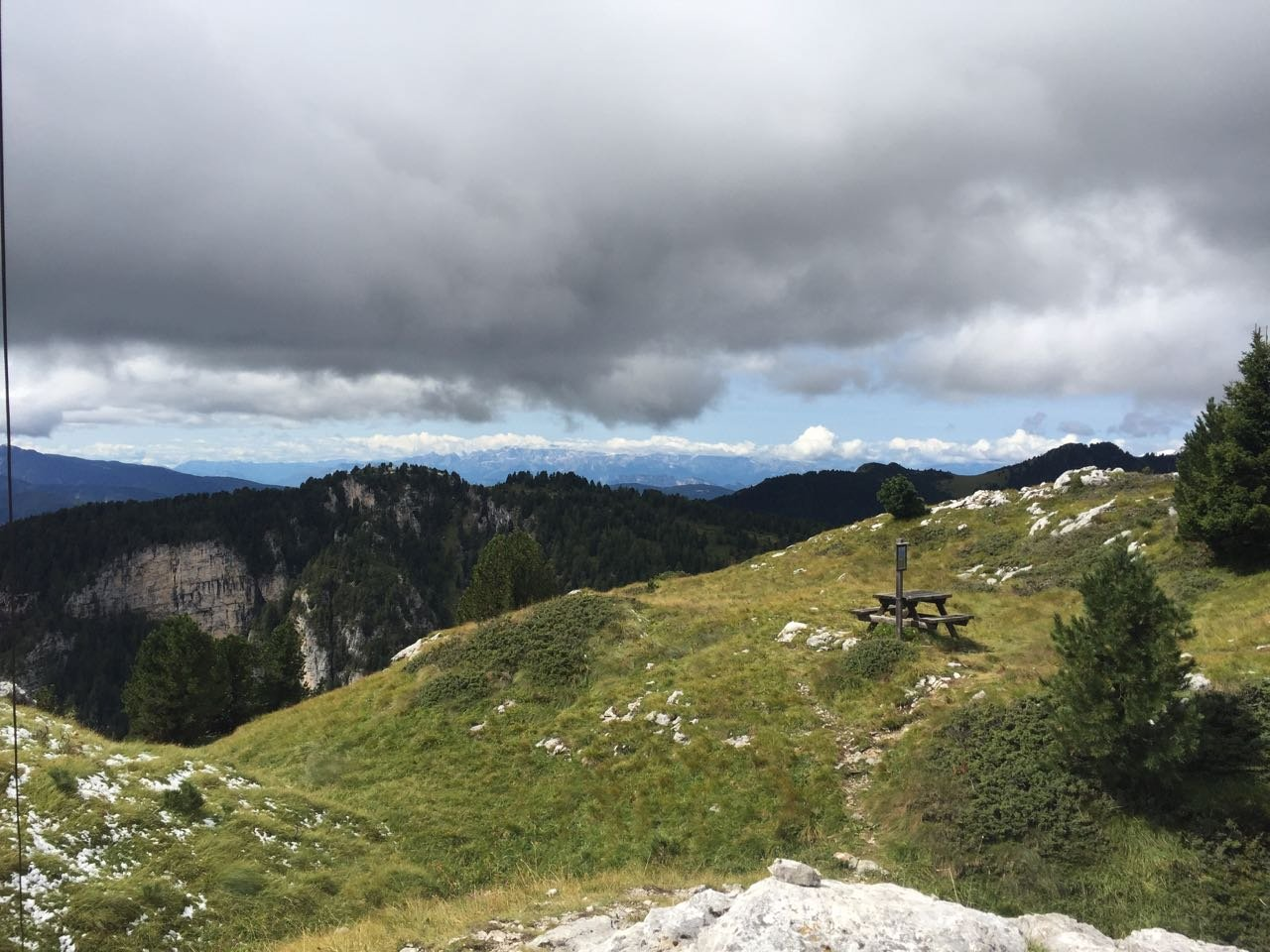 Palenzana (Monte) e Monte Agnello dall'Alpe di Pampeago 2018-08-26