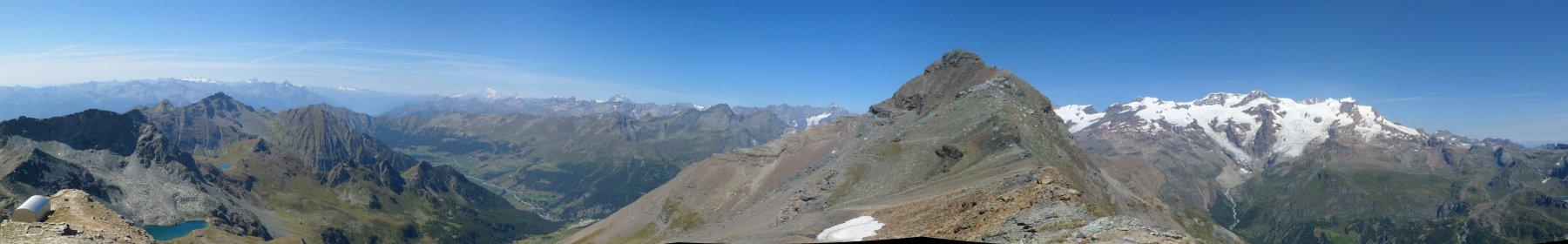 Panorama dal monte Pinter