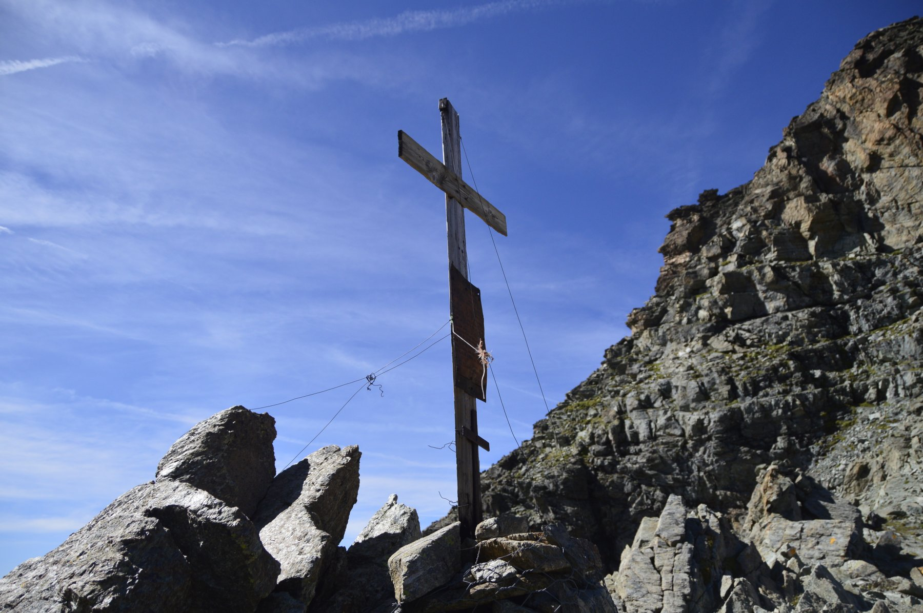 La croce al colle