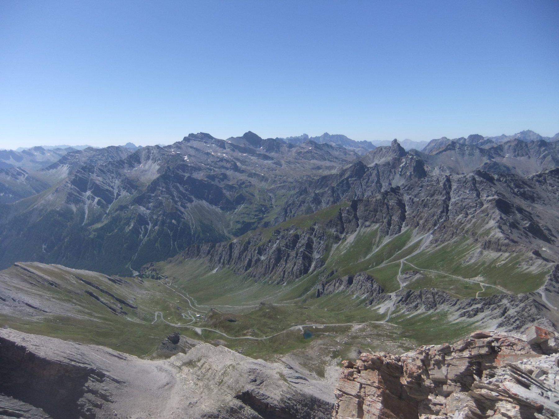 Val Varaita dalla vetta