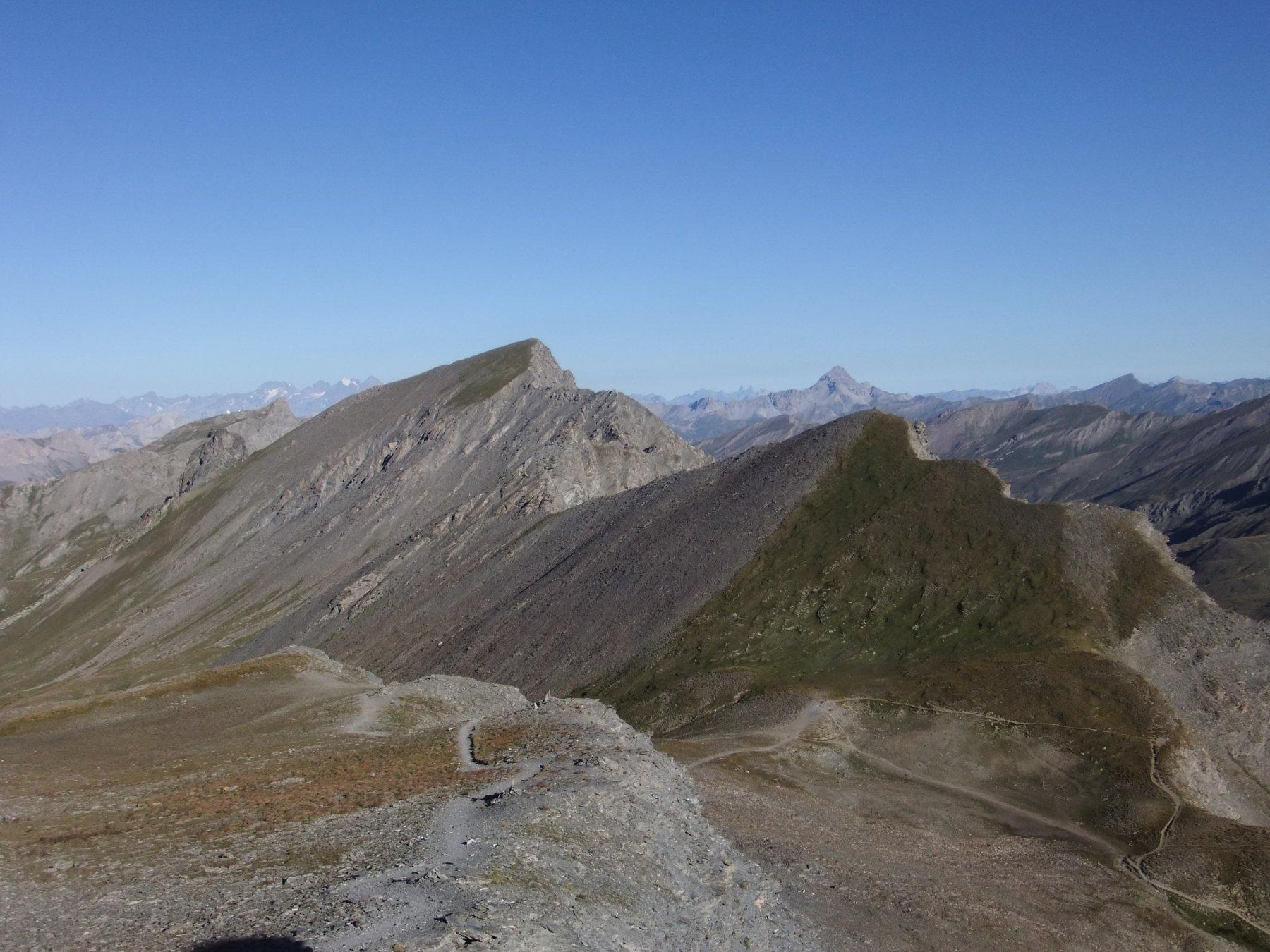 Il Col de la Chamoissiere salendo al Pelvo