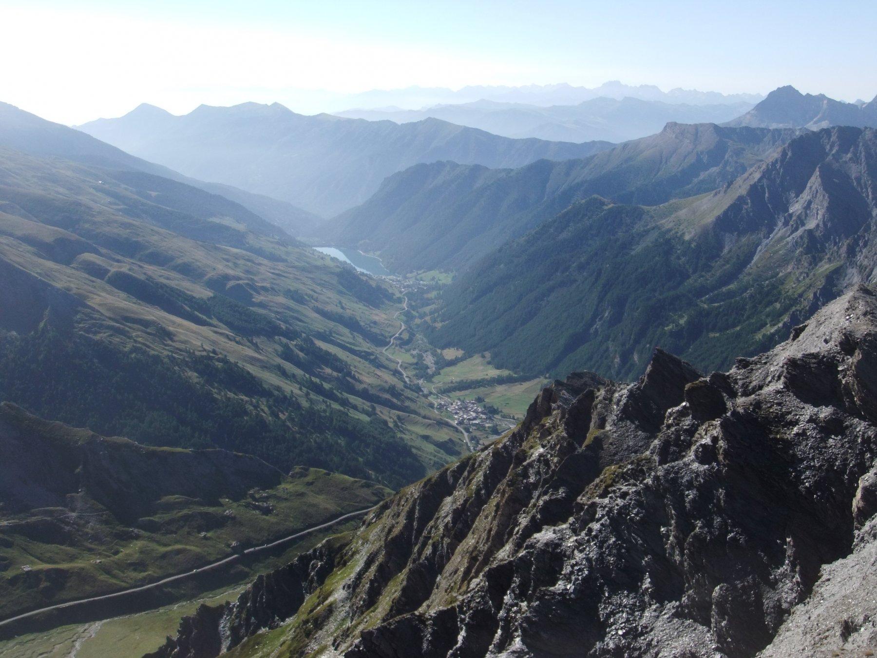 Alta Val Varaita dalla Punta del Alp