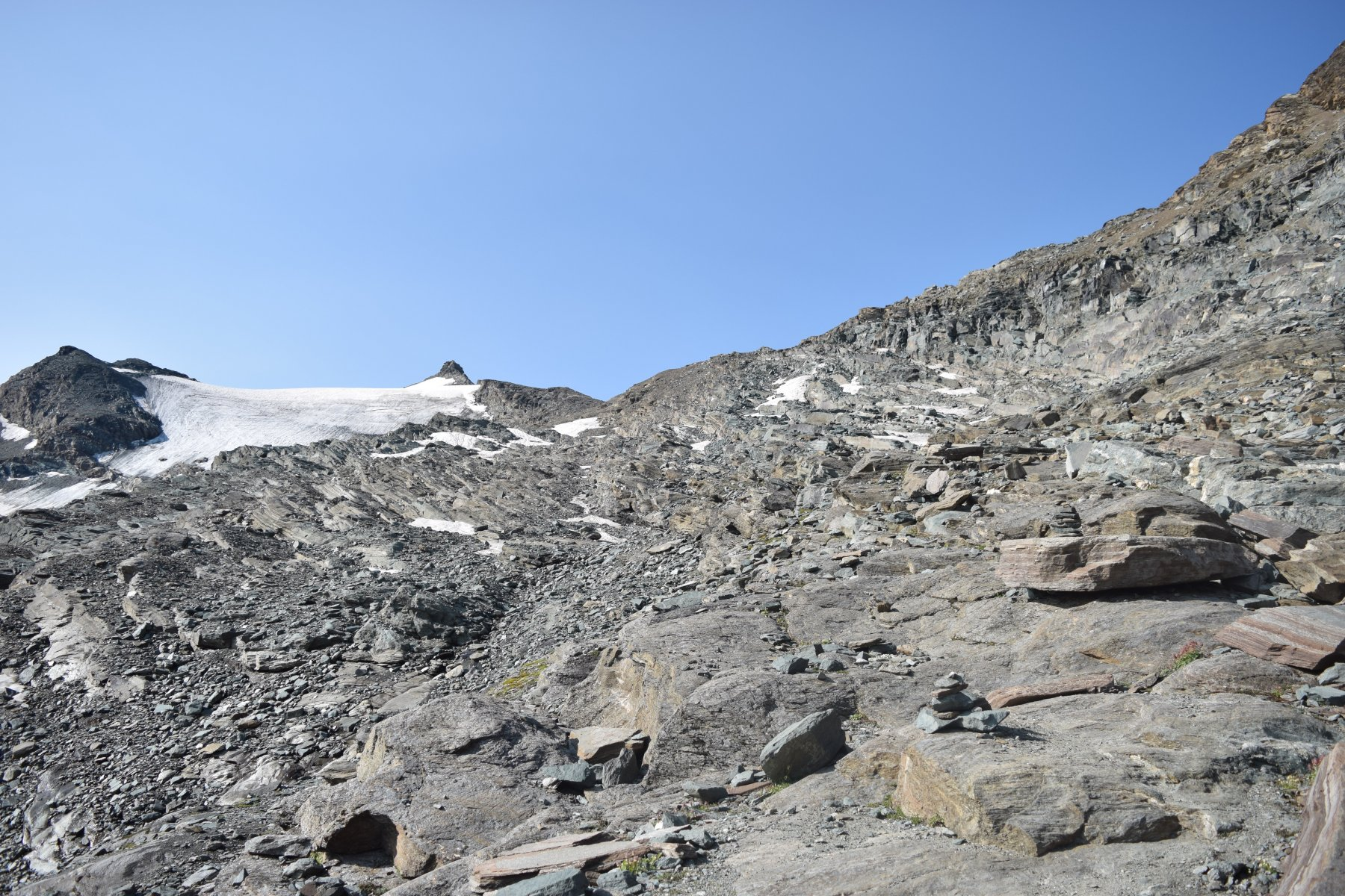 Il sentiero roccioso