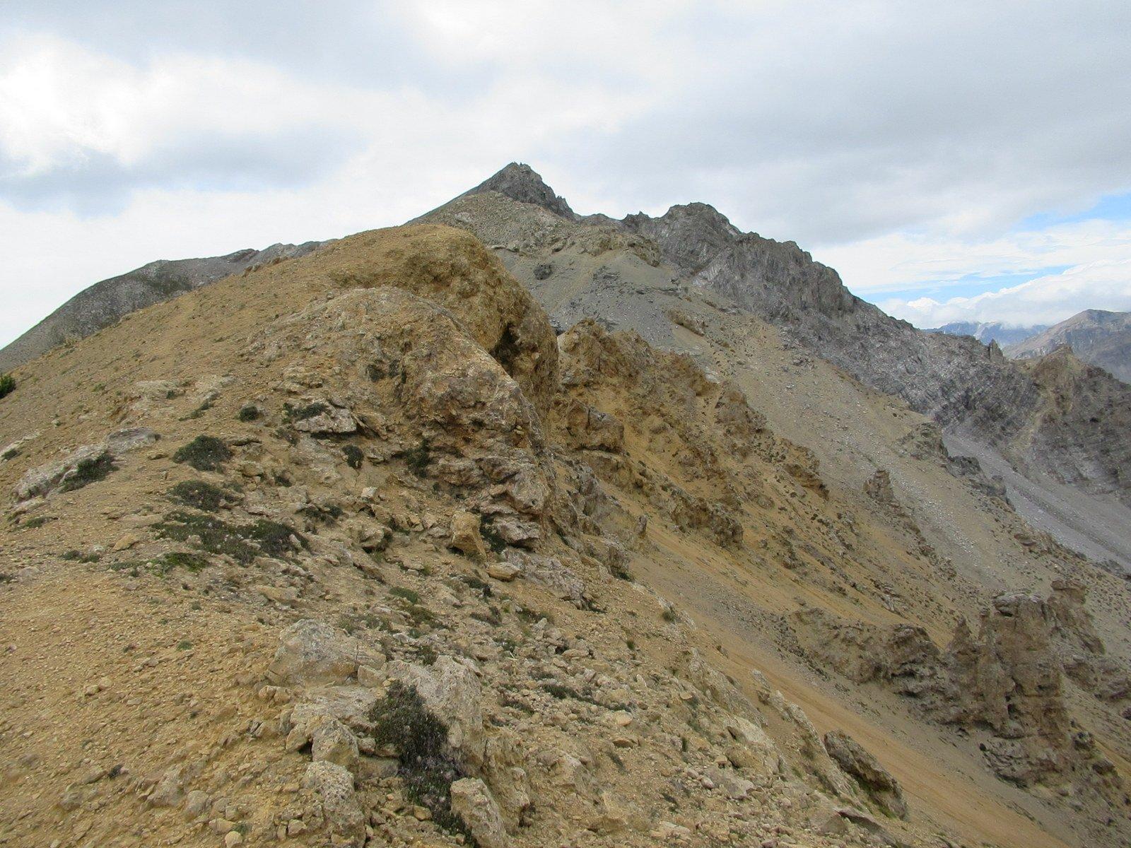 La Sueur vista dai pressi del Pas des Rousses