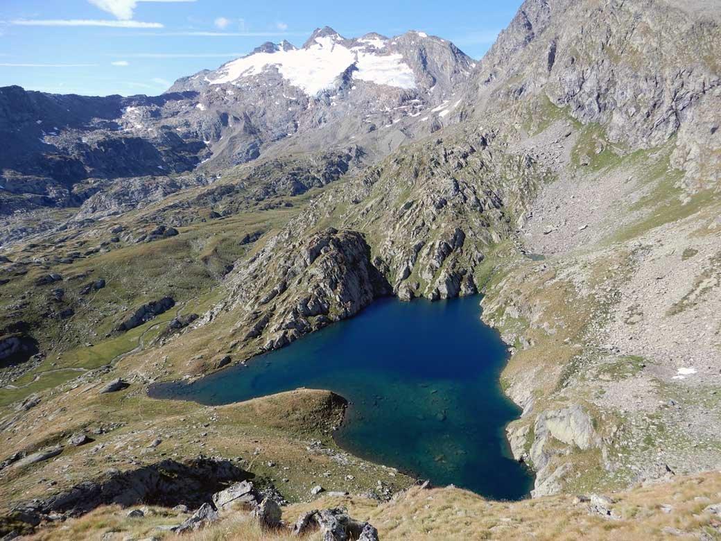 il lago dall'alto
