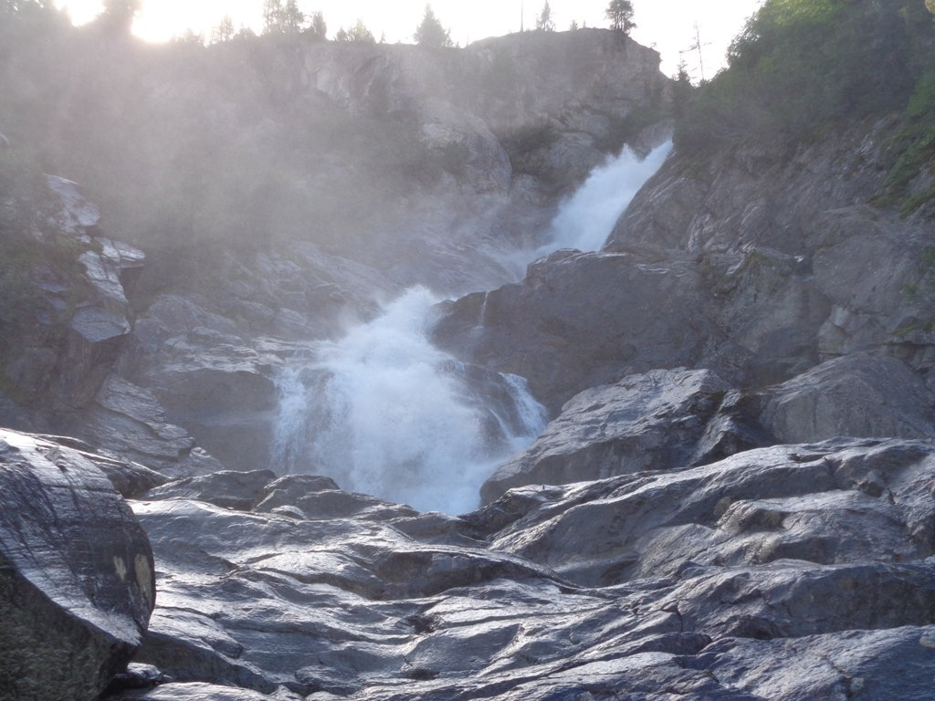 Terza cascata, quella con maggiore portata di acqua