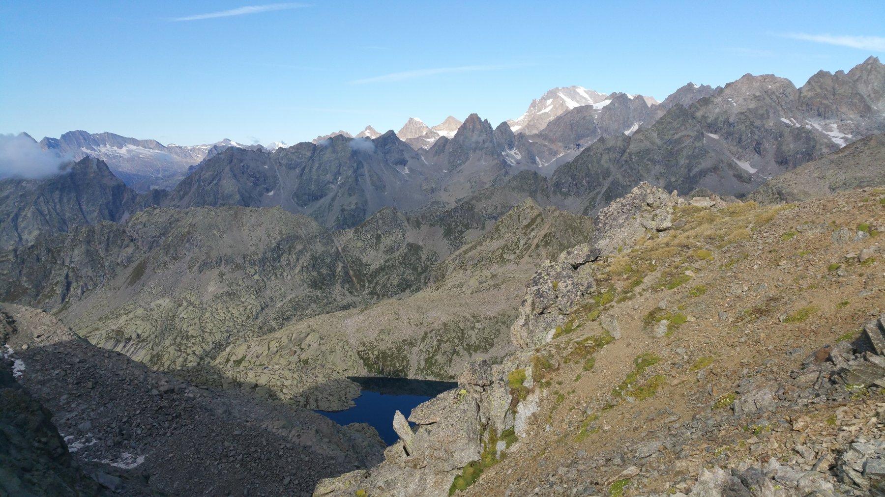 Lago di Motta e Gran Paradiso