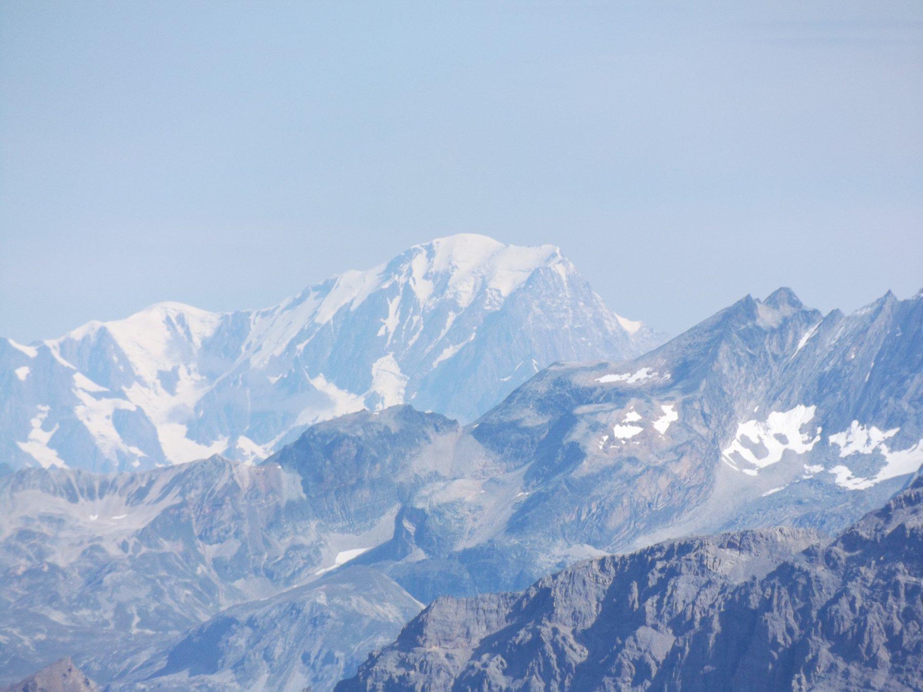 Monte Bianco dalla vetta