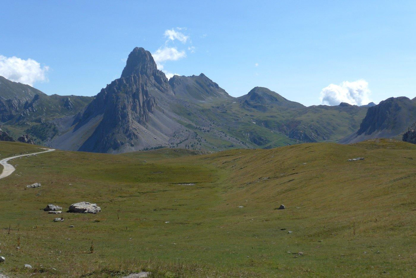 Rocca La Meja salendo al rifugio Gardetta