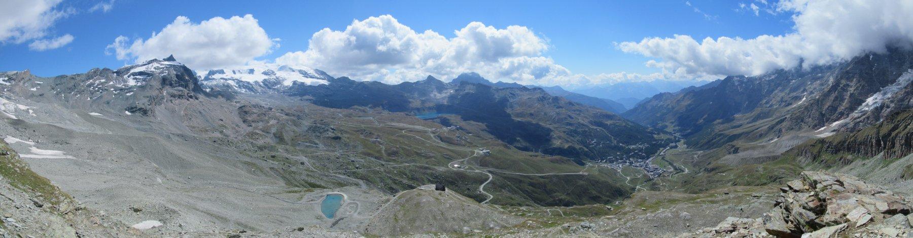 Panorama dalla Croce Carrel