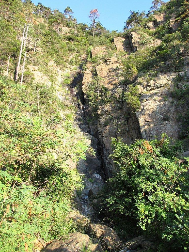 Un bel rio che scende dall'alto