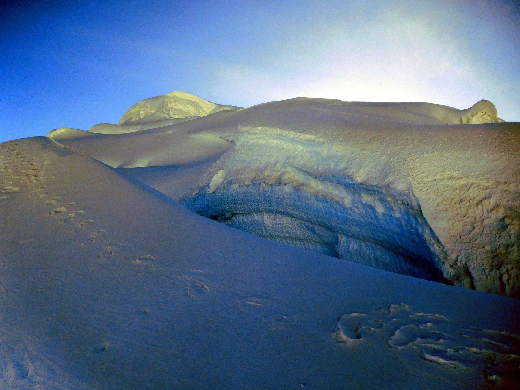 itinerario glaciale nella parte alta