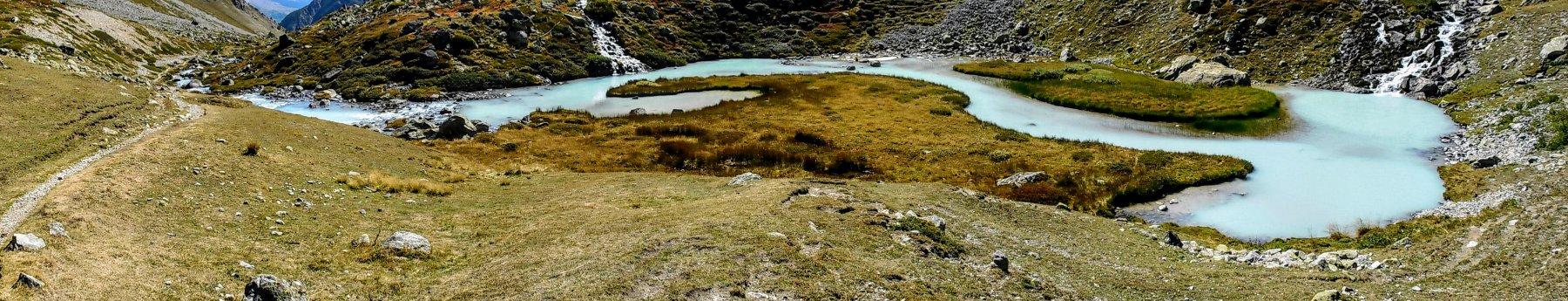 il corso del torrente lungo la vallata