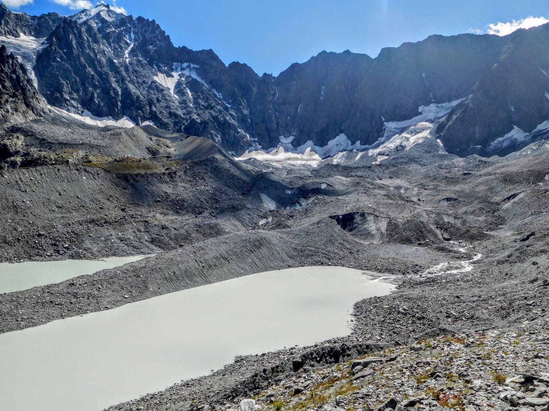 quel che resta del ghiacciaio