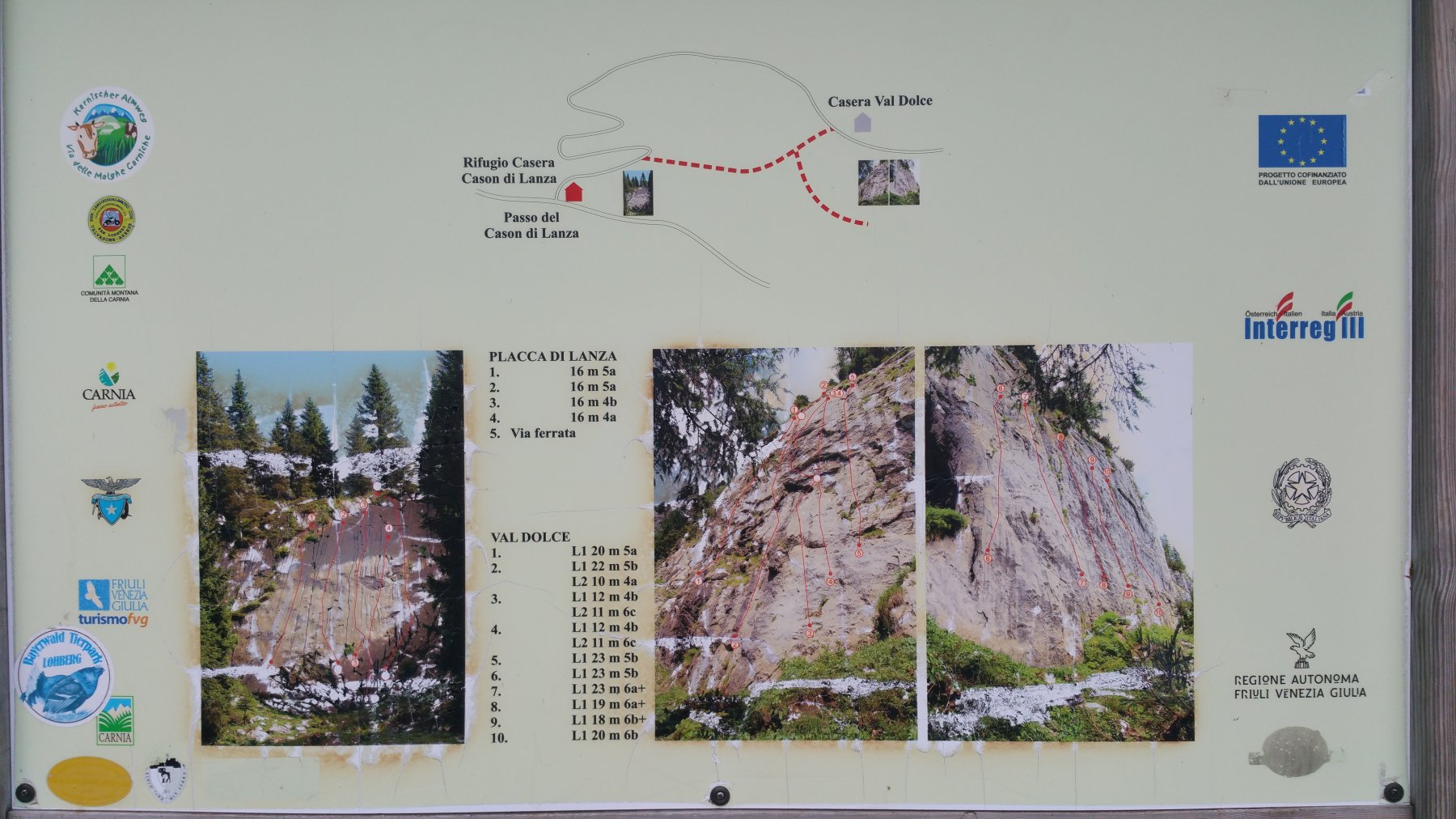 Cason (Passo) Falesia di Lanza e di Val Dolce 2018-09-08