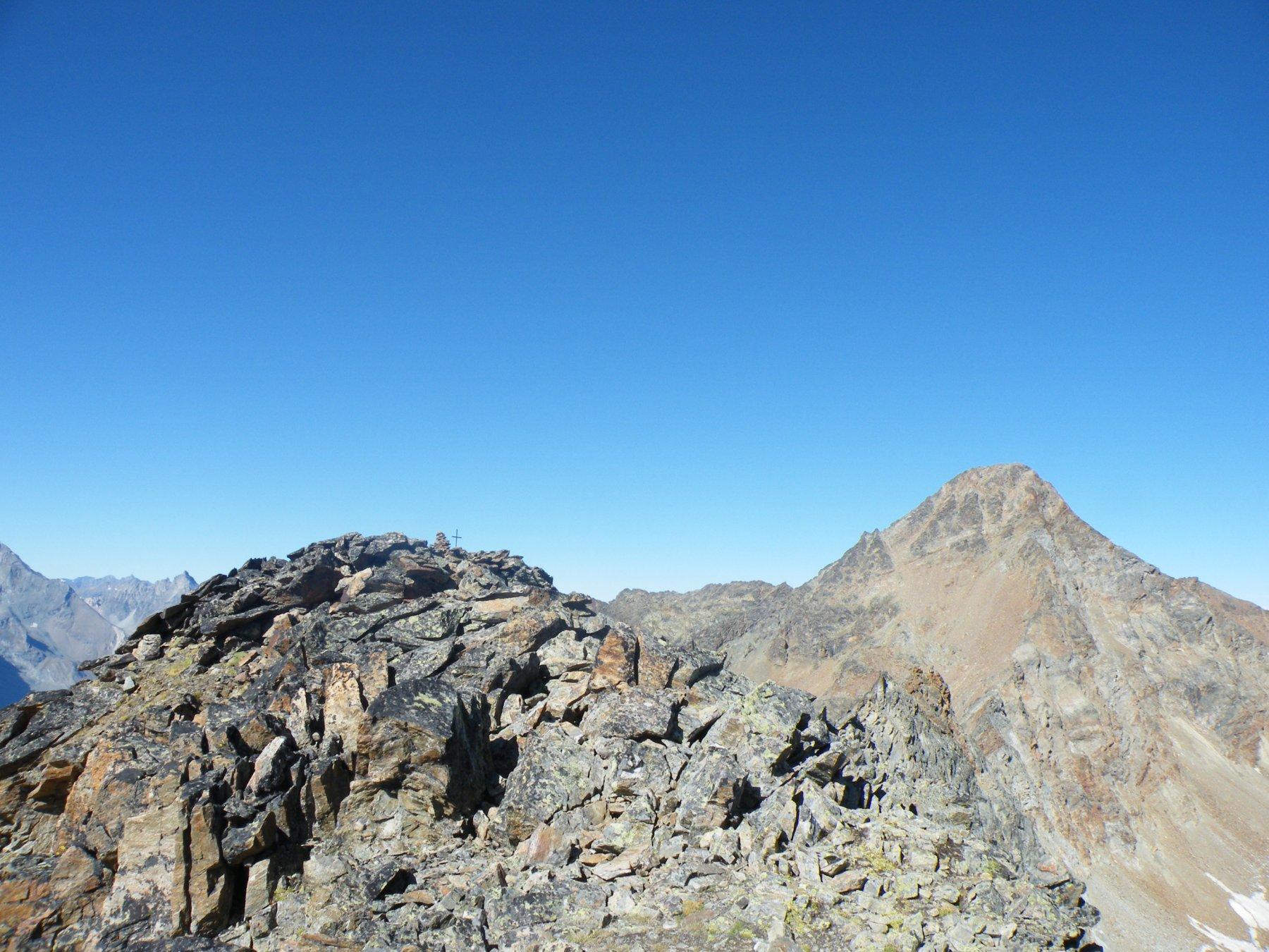 Grauson (Monte) Via Normale della Parete Est e Cresta SE 2018-09-08