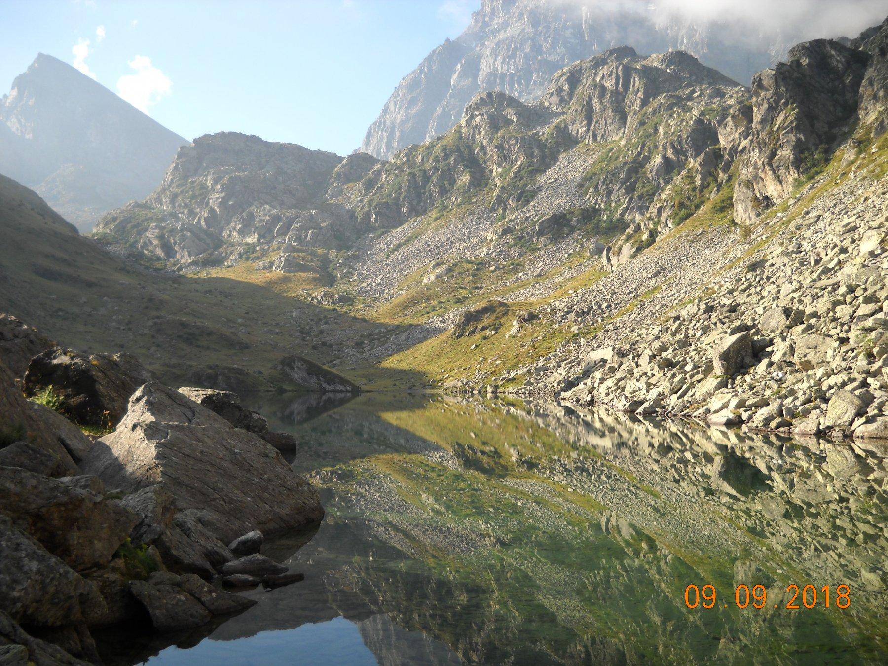 la meta dal lago Fiorenza