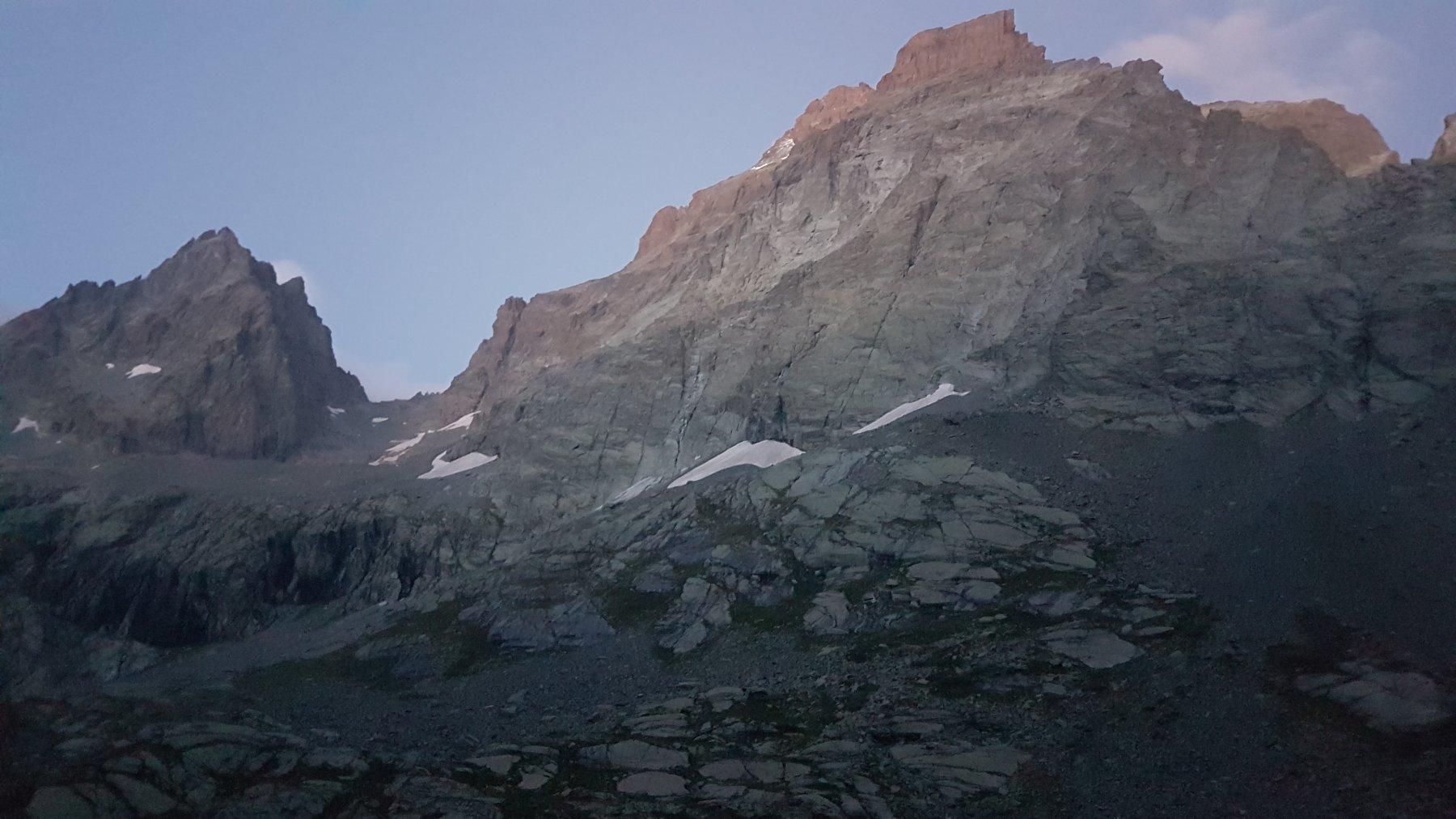Il vallone di salita dal Vallanta al Colle delle Cadreghe