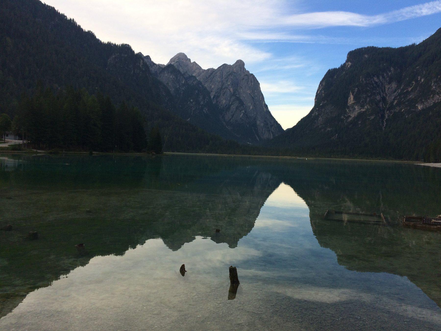 Lago di Dobbiaco.