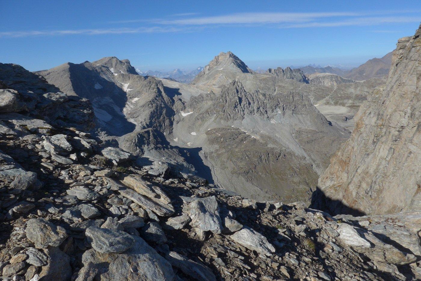 Panorama dal colle superiore dell'Agnello