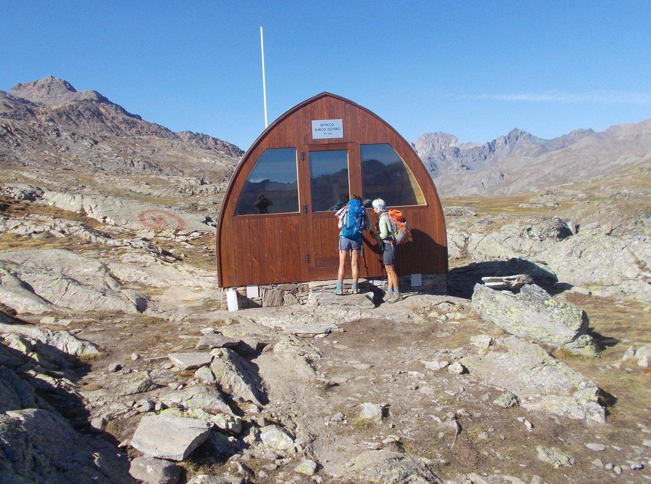 il nuovo Bivacco nei pressi del Lago Bes al  Col Longet