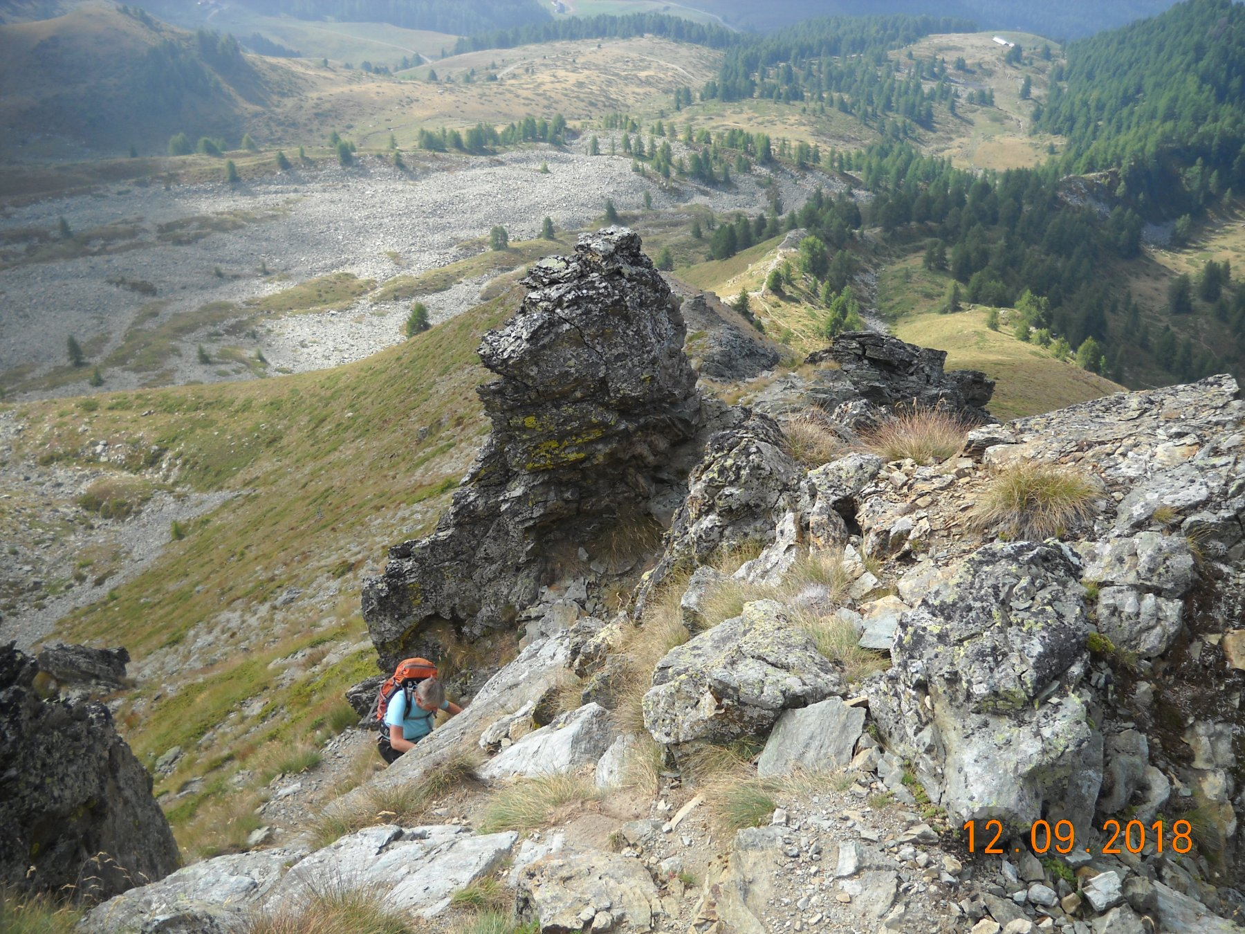 un tratto roccioso