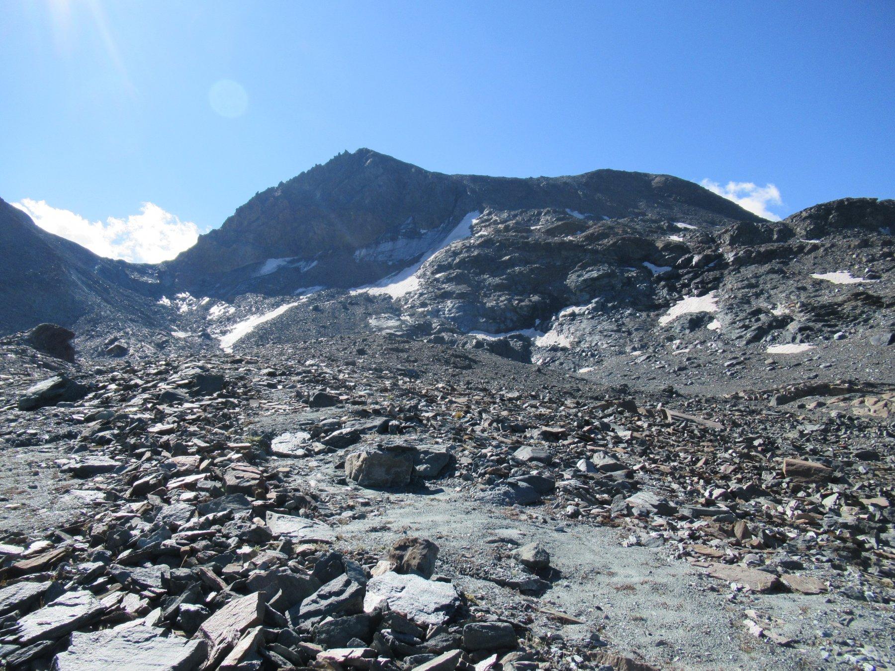 Parte superiore verso il Colle Leynir