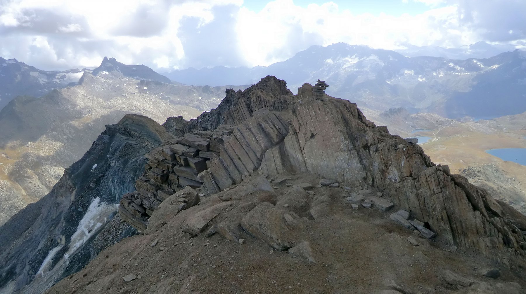 Taou Blanc, cima centrale