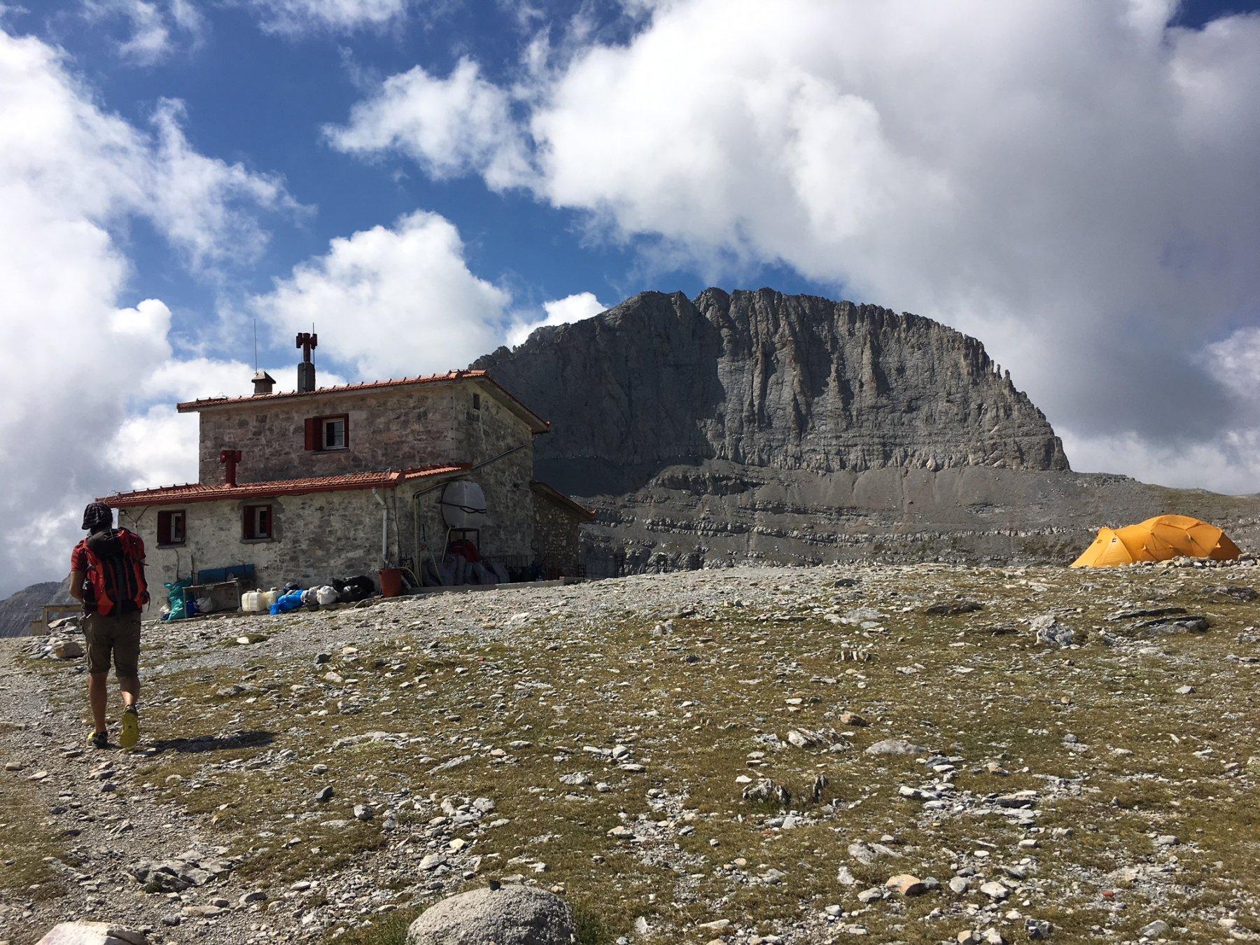 Rifugio Christos Kakalos e Monte Olimpo