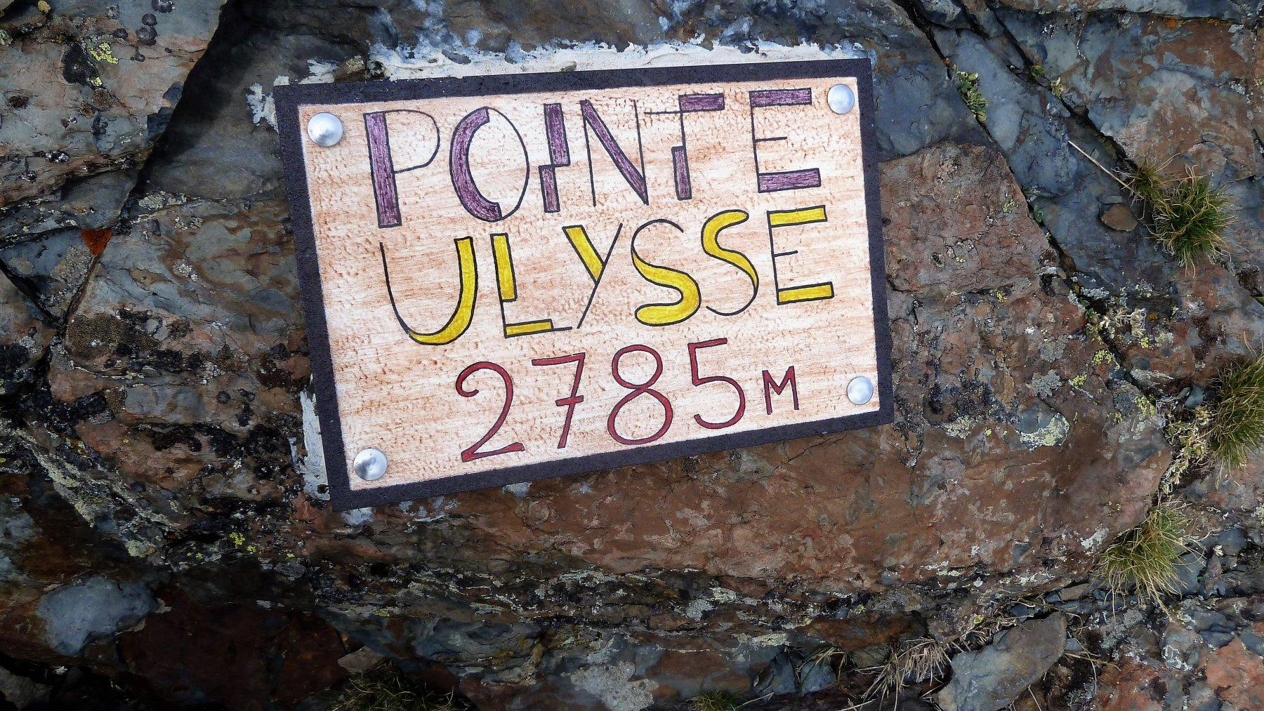 sulla pointe ulysse dove c'è il ripetitore
