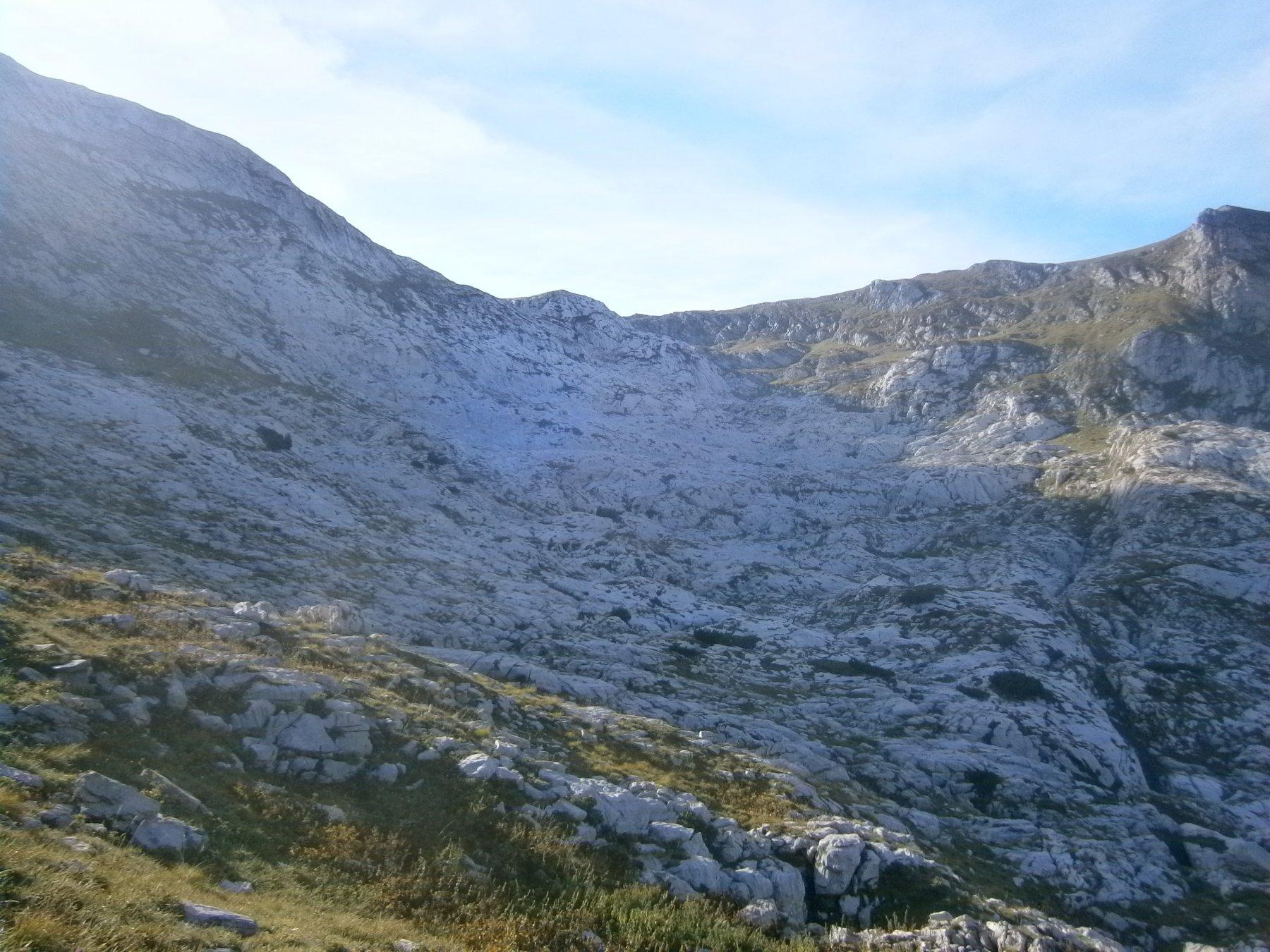 Le rocce bianche delle Carsene