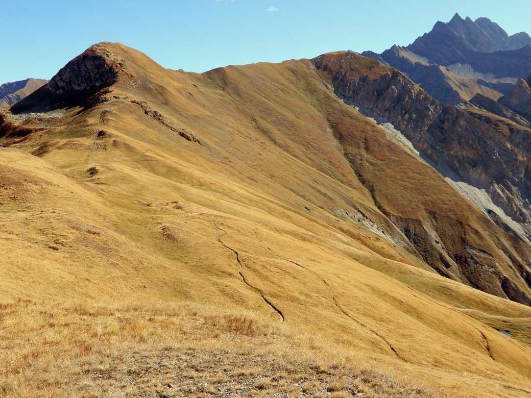 Tronche (Tète de la)da Villair, giro della Val Sapin 2018-09-19