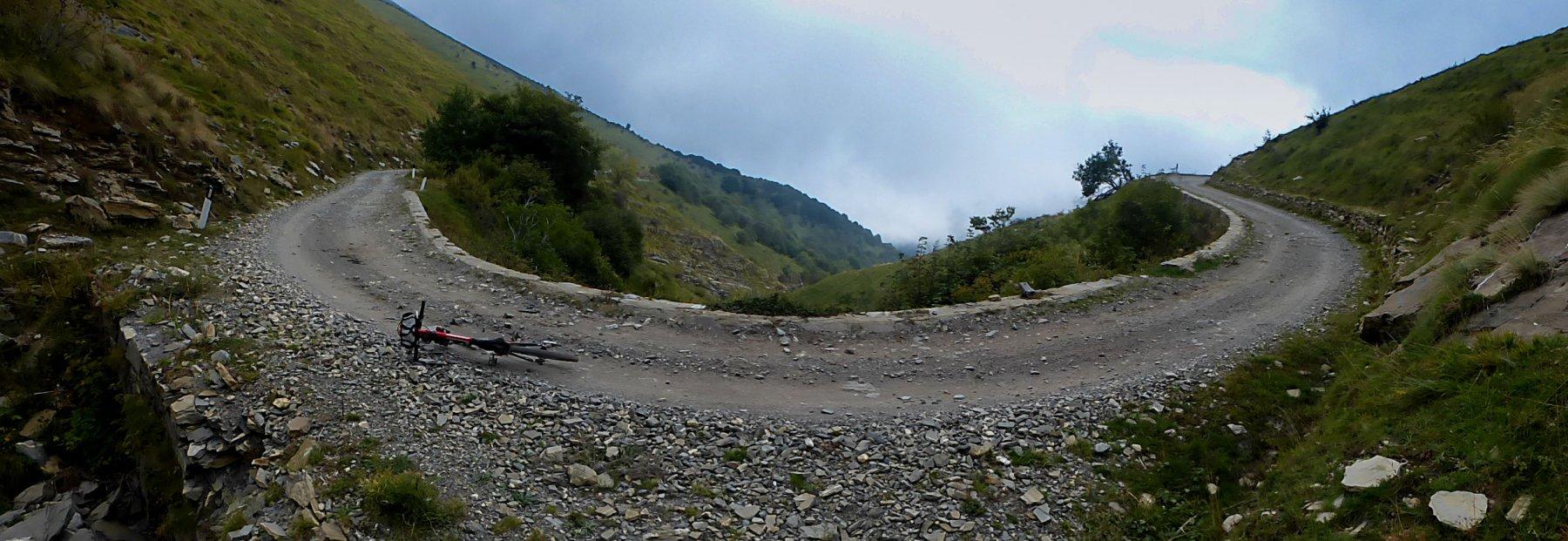 Sanson (Baisse de) da Ventimiglia al Passo del Faiallo per l'Alta Via dei Monti Liguri 2018-09-20